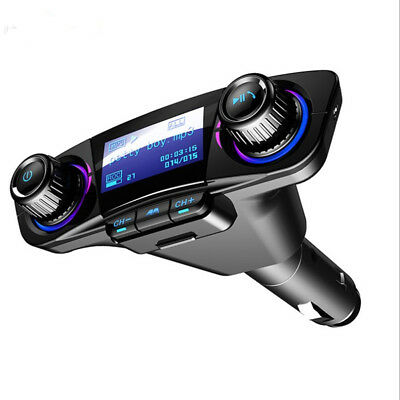 Portable Wireless Bluetooth Car MP3 Player Transmitter FM Dual USB Charger Port