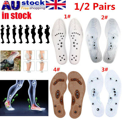 MindInSole Acupressure Magnetic Massage Foot Therapy Reflexology Fat Relief AU O