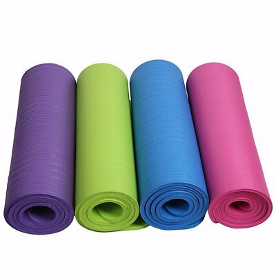 Thicken Foam Yoga Mat 10mm Thick Gymnastics Exercise Pad For Body Building 0W