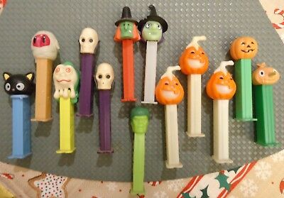 Lot of 13 Spooky Characters PEZ Dispensers