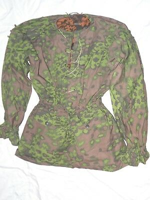 Reproduction WWII SS Oak A Camo Smock