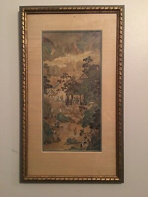 Ancient Hand Scroll Ming Dynasty Art By Chiu Ying