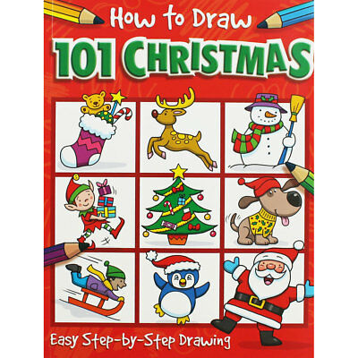 How to Draw - 101 Christmas (Paperback), Children's Books, Brand New