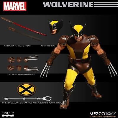 the ONE 12 COLLECTIVE: MARVEL – WOLVERINE 1/12 Action Figure MEZCO TOYS