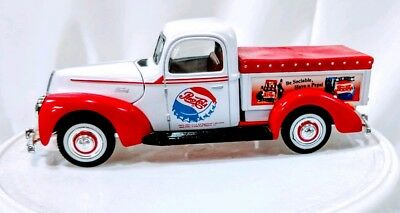 Pepsi Collectable Vintage Ford Truck Car Diecast Metal Be Sociable Have A Pepsi