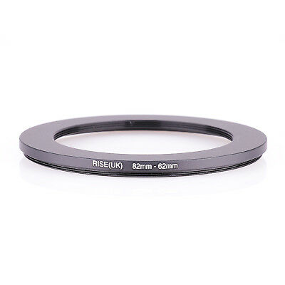 82mm-62mm 82-62mm 82-62 Step Down Ring Filter Adapter 82-62 BLACK