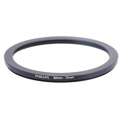 RISE(UK)82-72 MM 82 MM- 72 MM 82 to 72 Step Down Ring Filter Adapter