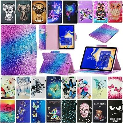 "For Samsung Galaxy Tab A6 A 7"" 8.0 10.1"" T280 T350 T380 T580 Leather Cover Case"