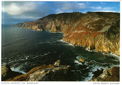 Ireland - Donegal  -  The Slieve League Cliffs on the North Atlantic Coast