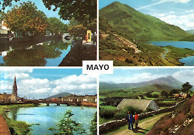 Ireland - Country Mayo  -  City views and Landscapes wit Croagh Patrick