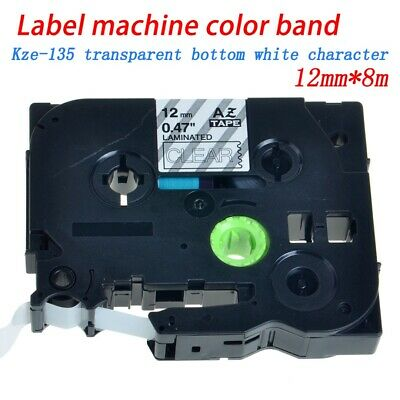 5x Label Tape FOR Brother TZ-231 TZe-231 P-Touch Black On White 12mm PT-1010 900