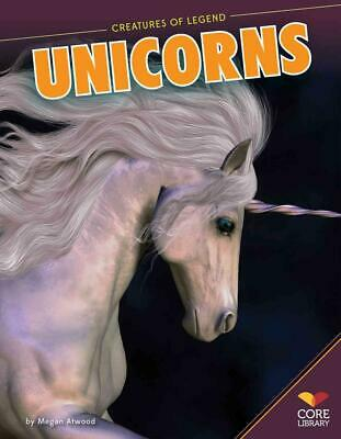 Unicorns by Megan Atwood (English) Library Binding Book Free Shipping!