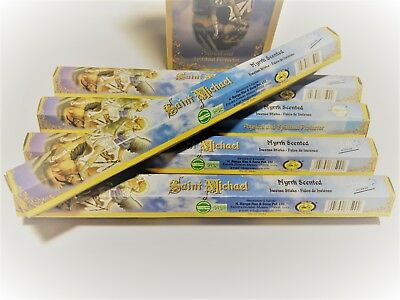 St Michael Blessed Incense 20 Sticks Archangel Patron Warriors And Sick 1 Tube