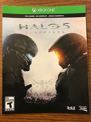 Halo 5 Guardians (Microsoft Xbox One, 2015) Digital Download Codes | Full Game