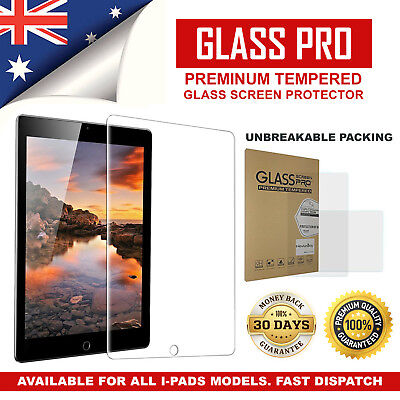 Tempered Glass Screen Protector Film for Apple iPad 2 3 4 5 Air Mini Pro 9.7 Lot