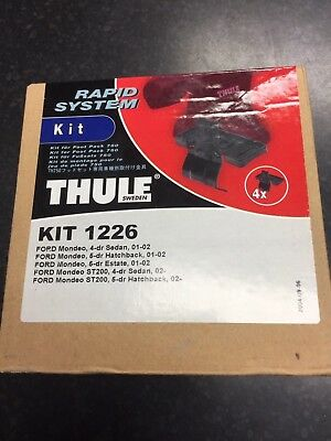 Thule Fitting Kit 1226 Ford Mondeo Mark 3  Hatchback/Saloon/Estate 2001-2007