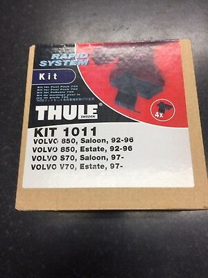 Thule Rapid System Fitting Kit 1011 VOLVO 850 S70 V70 Brand New