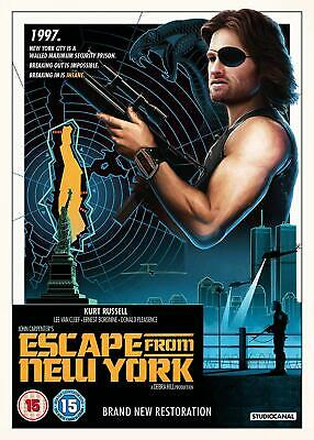 Escape From New York [2018] (DVD) Kurt Russell, Lee Van Cleef, Ernest Borgnine