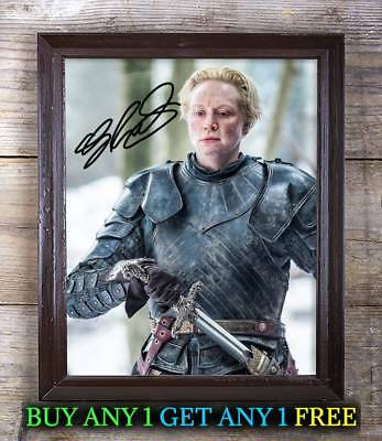 Gwendoline Christie Game Of Thrones Autographed Signed 8x10 Photo Reprint #51