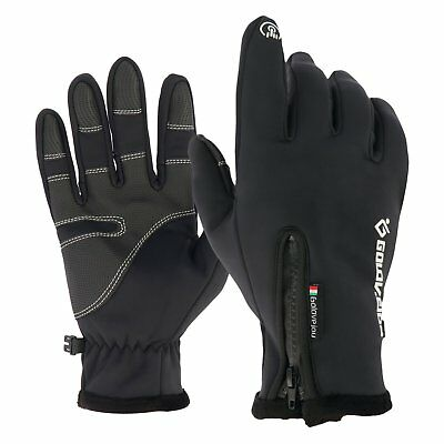 Sheepskin Leather Motorcycle Bike Full Finger Summer Winter Touch Sport Gloves