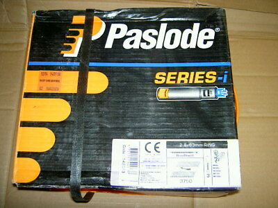 Paslode 142013 2.8mm x 63mm Galv Nails x 3750 and 3 Fuel Cells date till 2020