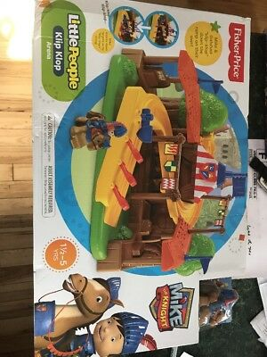 Fisher-Price Little People Mike The Knight Klip Klop Evie Figure Pack Fisher Price Y9362