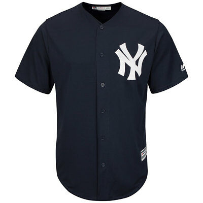 New York Yankees Licenced Cool Base MLB Navy Jersey