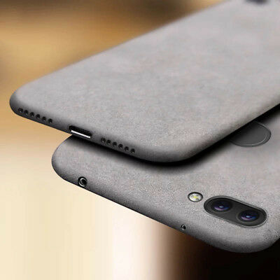 For Xiaomi Redmi 6A 6 5 Plus 4X 3S Shockproof Case Sandstone Hard PC Back Cover