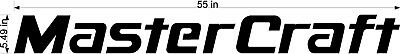 "MasterCraft Hull Decal 5""x55"" #1"