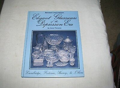 Collector  Book, Elegant Glassware of the Depression Era, Florence, 1985, HC