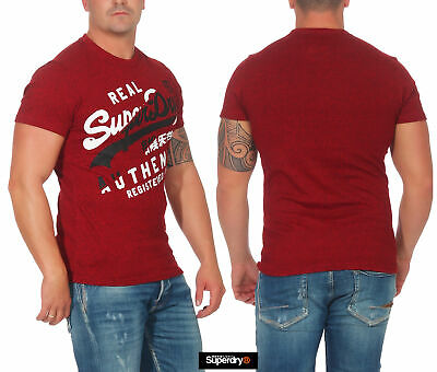Superdry Herren T-Shirt Vintage Authentic TEE