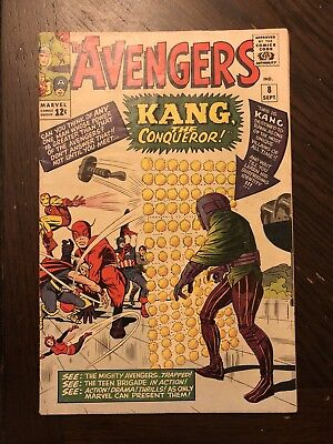 The Avengers #8 (Sep 1964, Marvel) In Fn To Fn+ Condition!