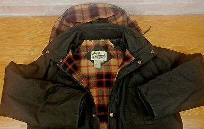 "Sears Robuck & Co Coat Mens M 50"" Oversized Jacket Winter Parka VTG Fits Like XL"
