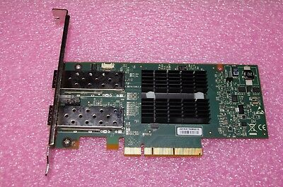 Mellanox 10 GbE PCI-e G2 Network Interface Card 518001-001 2 x 10G Transceivers