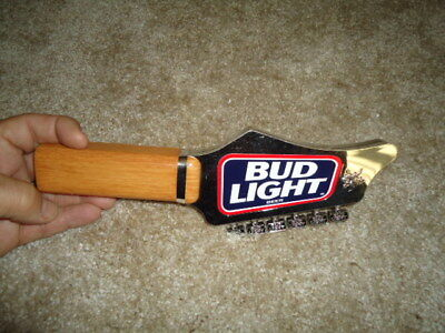 Rare Bud Light Guiter Beer Tap Handle Man Cave Huge Sale Read Description