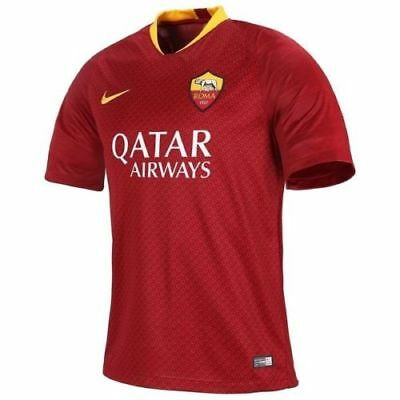 As Roma Shirt , Home Football Jersey, 2018/19, New, All Sizes!