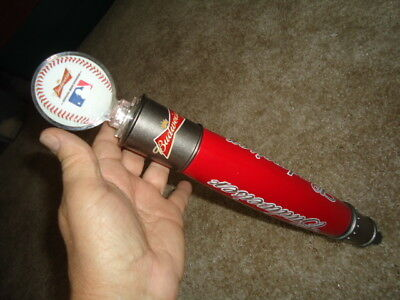 Budweiser Baseball Mlb Beer Tap Handle Man Cave Huge Sale Read Description