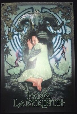 PAN'S LABYRINTH Drew Struzan SOLD OUT Signed Print Bottleneck Guillermo Del Toro