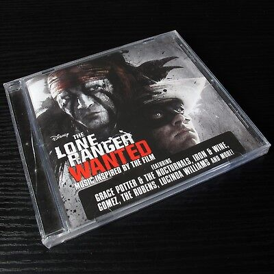 The Lone Ranger Wanted Music Inspired By The Film AU CD SEALED Case Cracke #24-3
