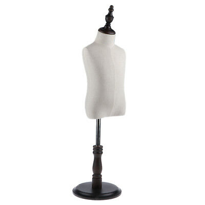 Moveable Kids Dress Form Mannequin Bust Upper Torso Stand Cloth Display S