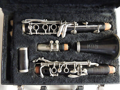 Rare Selmer Signet Special Mazzeo Model Wood Clarinet Ser. 51902 Nice Condition