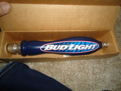 Older Bud Light Beer Tap Handle Man Cave Huge Sale Read Description Mib