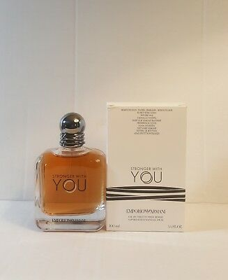 51d3610d23d8f Emporio Armani Stronger With You Eau De Toilette Pour Homme 3.4oz New in  Box.