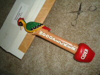Rare Woodpecker Cider Beer Tap Handle Huge Sale Read Description Mib Great Item