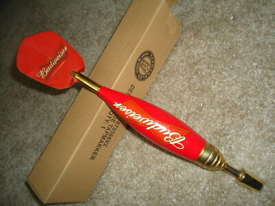 Older Budweiser Darts Beer Tap Handle Huge Sale Read Description Mib