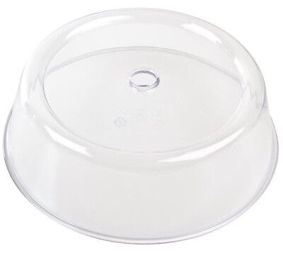 Vogue Plastic Plate Cover Clear Polycarbonate Vented Stacking Microwave 215mm