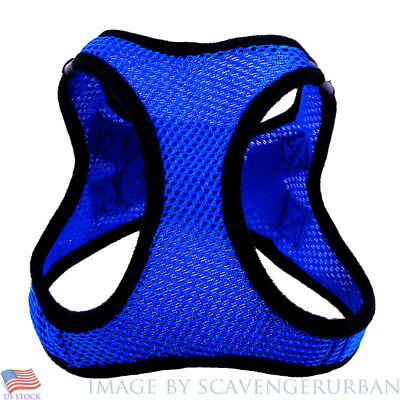 SMALL adjustable Breathable Nylon Pet Dog Cat Vest HARNESS Collar Mesh