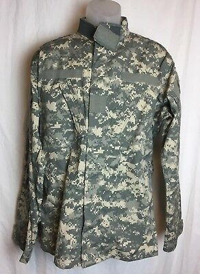 US Army ACU Digital Military Combat Coat Uniform Top Medium - Long Excellent