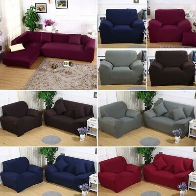 Stretch Sofa Seater Couch Cover Washable Lounge Protect Slipcover 1+2+3+4 Seater