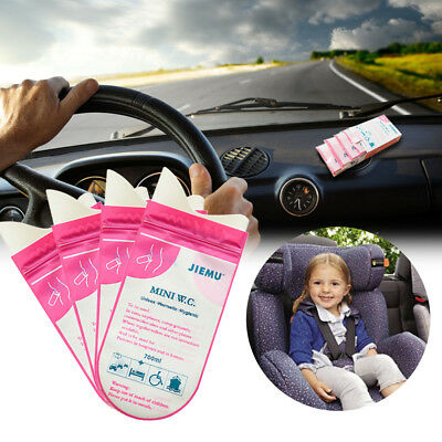 4Pcs 700ML Car Emergency Pee Urinal Vomit Bag Urine Bag For Outdoor Travel